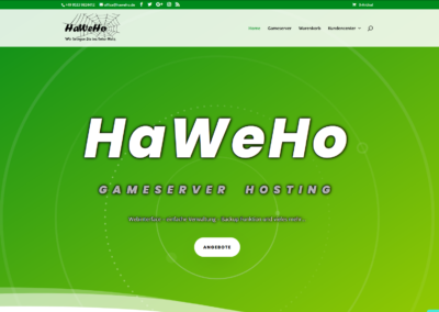HaWeHo Gameserver Hosting